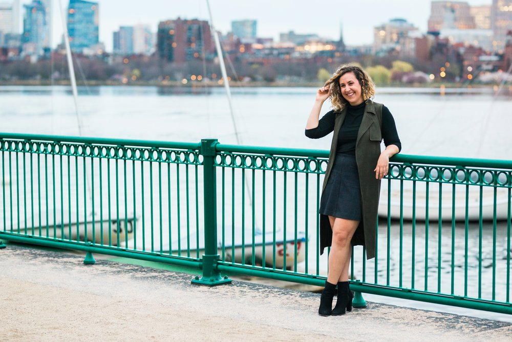Emily Grace Photography, Boston Wedding Photographer, Harvard Bridge Engagement, Cambridge Massachusetts
