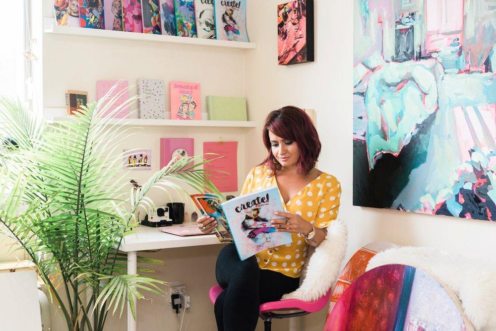 Emily Grace Photography, Lancaster PA Lifestyle Portrait Photographer, Wilmington, DE Create Magazine Photo Session