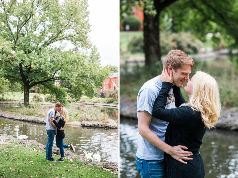 Emily Grace Photo, Lancaster PA Wedding Photographer, Millersville University Engagement Session