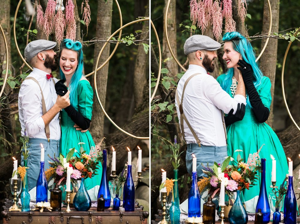 Emily Grace Photo, Lancaster PA Wedding Photographer, Jewel Tone Mermaid Style Shoot, Lakefield Weddings Manheim