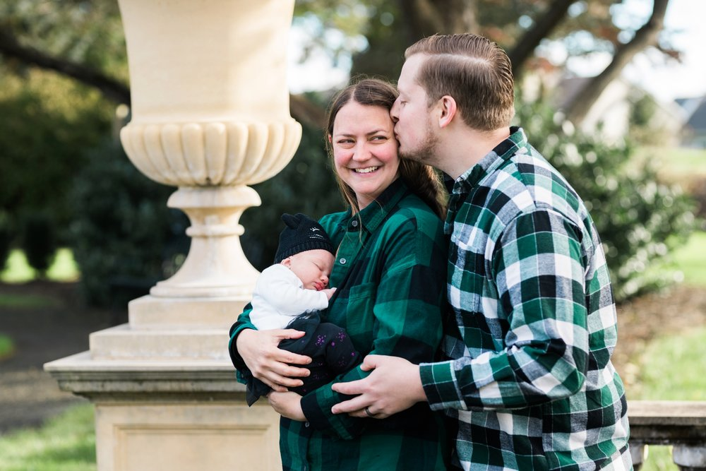 Emily Grace Photography, Lancaster PA Newborn Photographer, Masonic Village Portrait Session