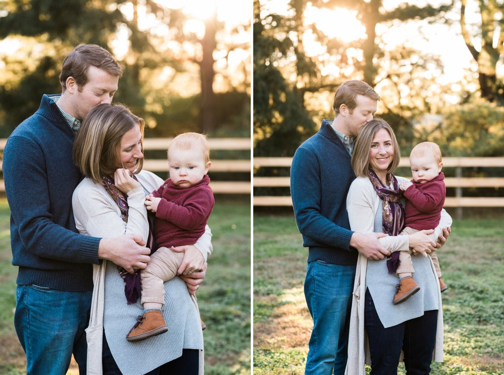 Emily Grace Photography, Lancaster PA Lifestyle Photographer, Fall Family Portraits, Family Photos with Dog