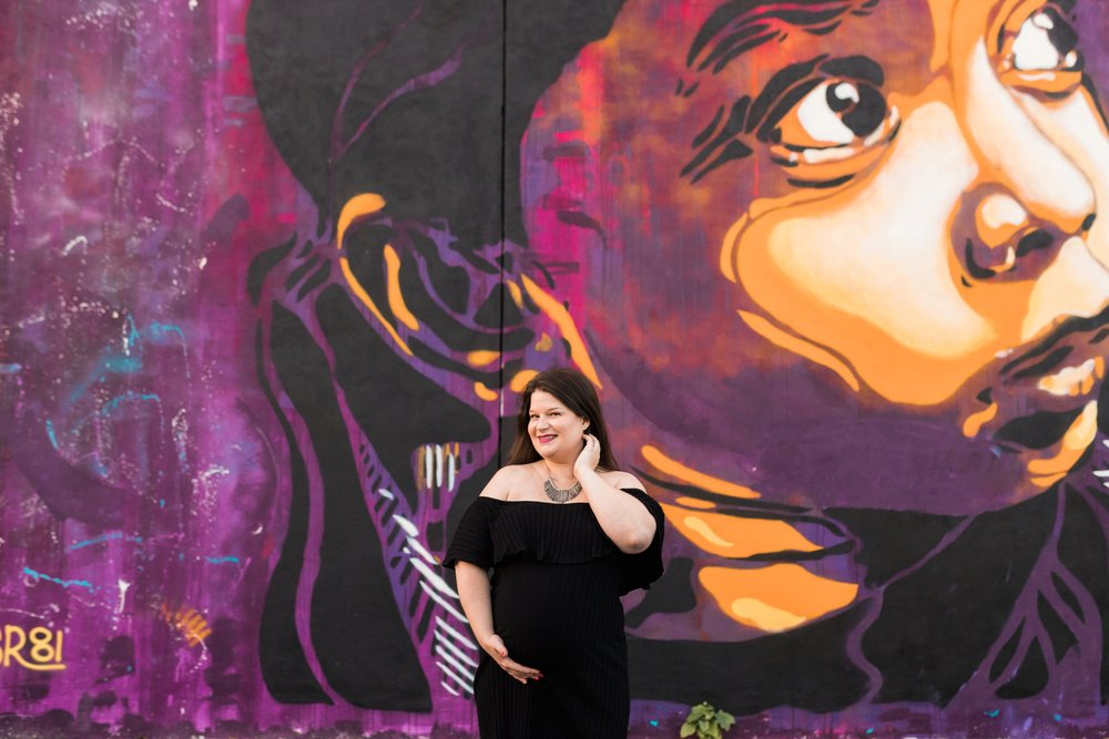 Emily Grace Photography, Uptown Harrisburg PA Lifestyle Photographer, Urban Maternity Session