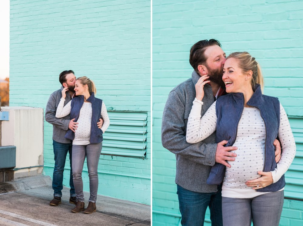 Emily Grace Photography, Lancaster PA Maternity  Portrait Photographer, Downtown Lancaster Maternity Session, Central Market Engagement Photos