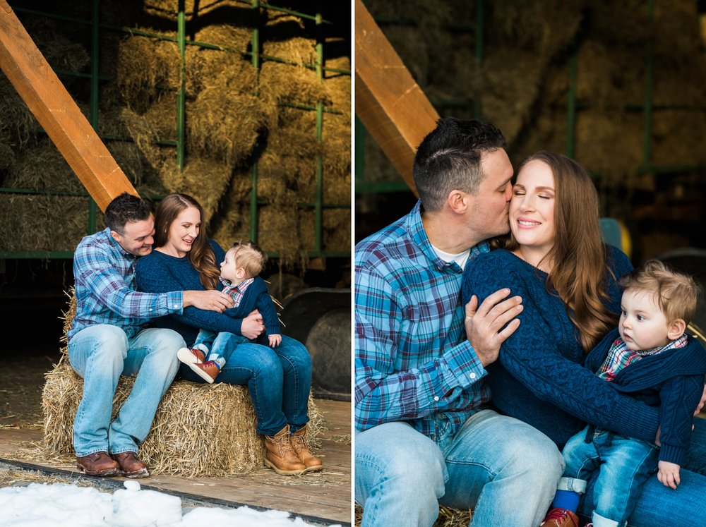 Emily Grace Photography, Elizabethtown Family Portrait Photographer, Rustic Barn Family Photos