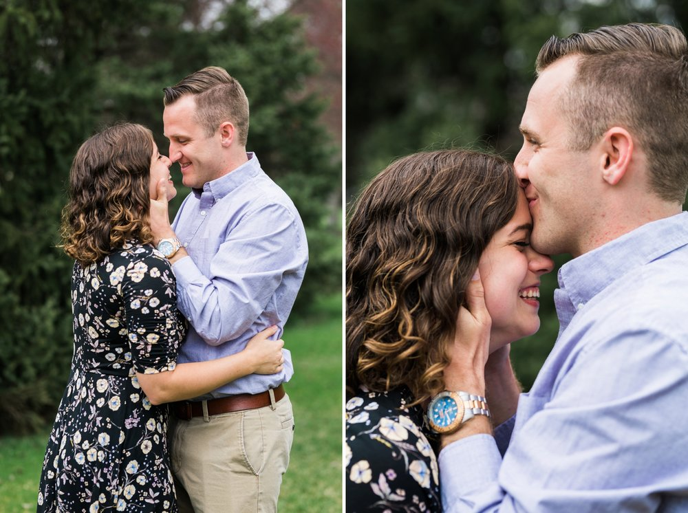 Emily Grace Photography, Lancaster PA Wedding Photographer, Photography for Joyful Couples, Greenfield Corporate Center Park Engagement Session