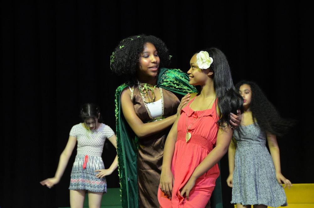 Asaka encourages Ti Moune.