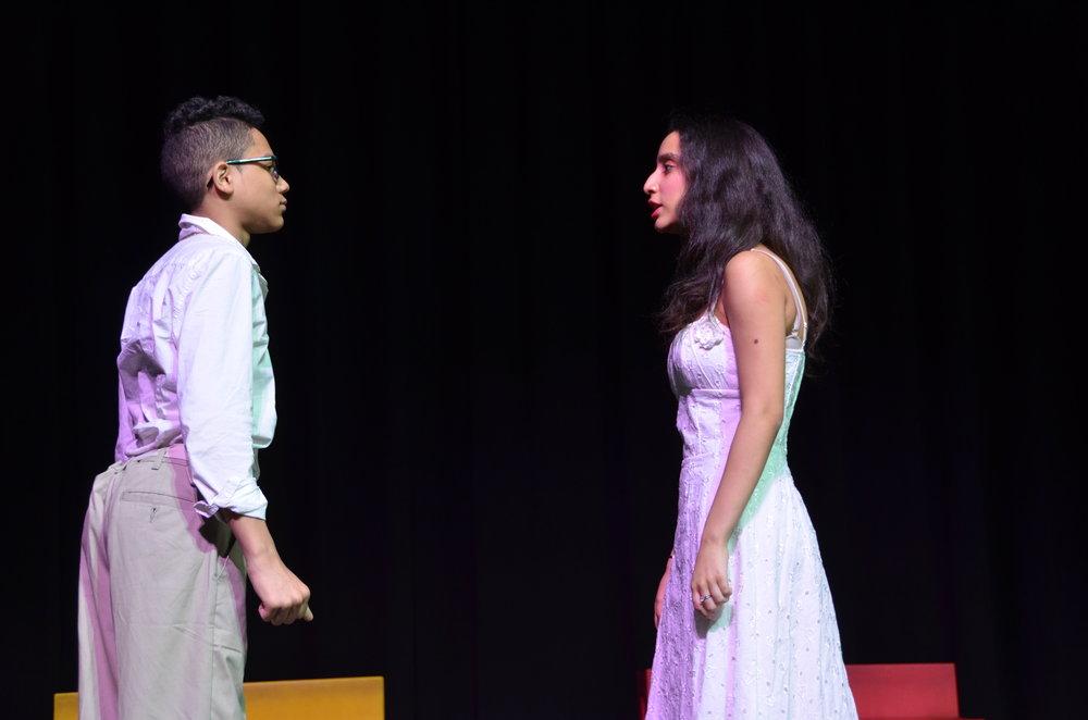 Andrea confronts Daniel