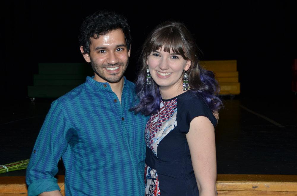 Music Director Krish Jaiman and Director Katie Speed