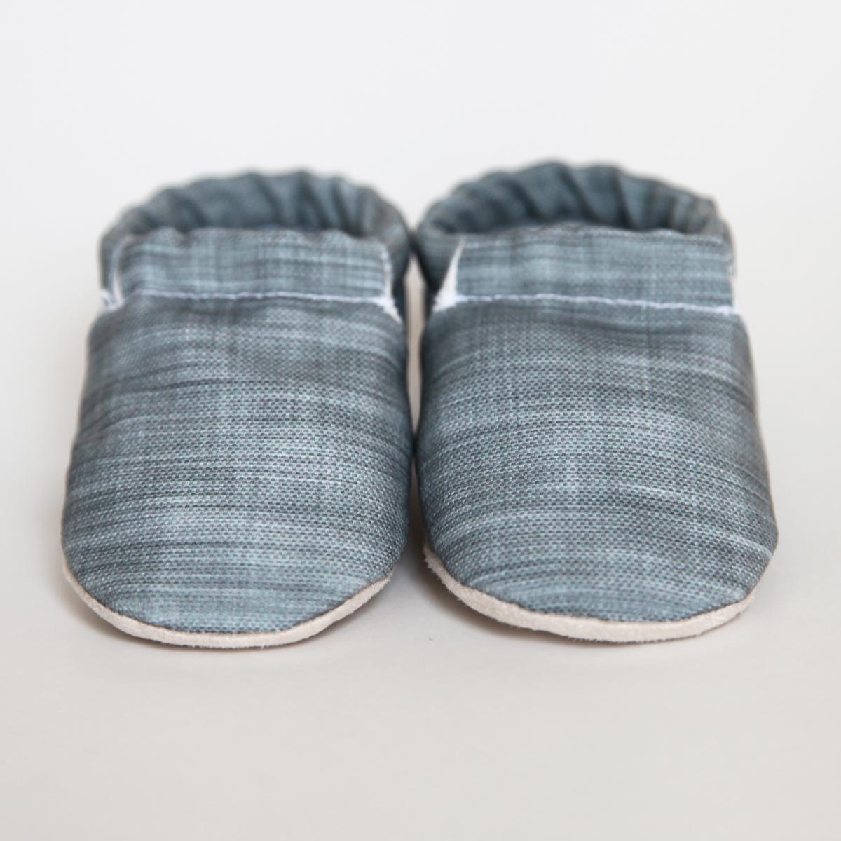 Organic soft soled baby shoes LANDON