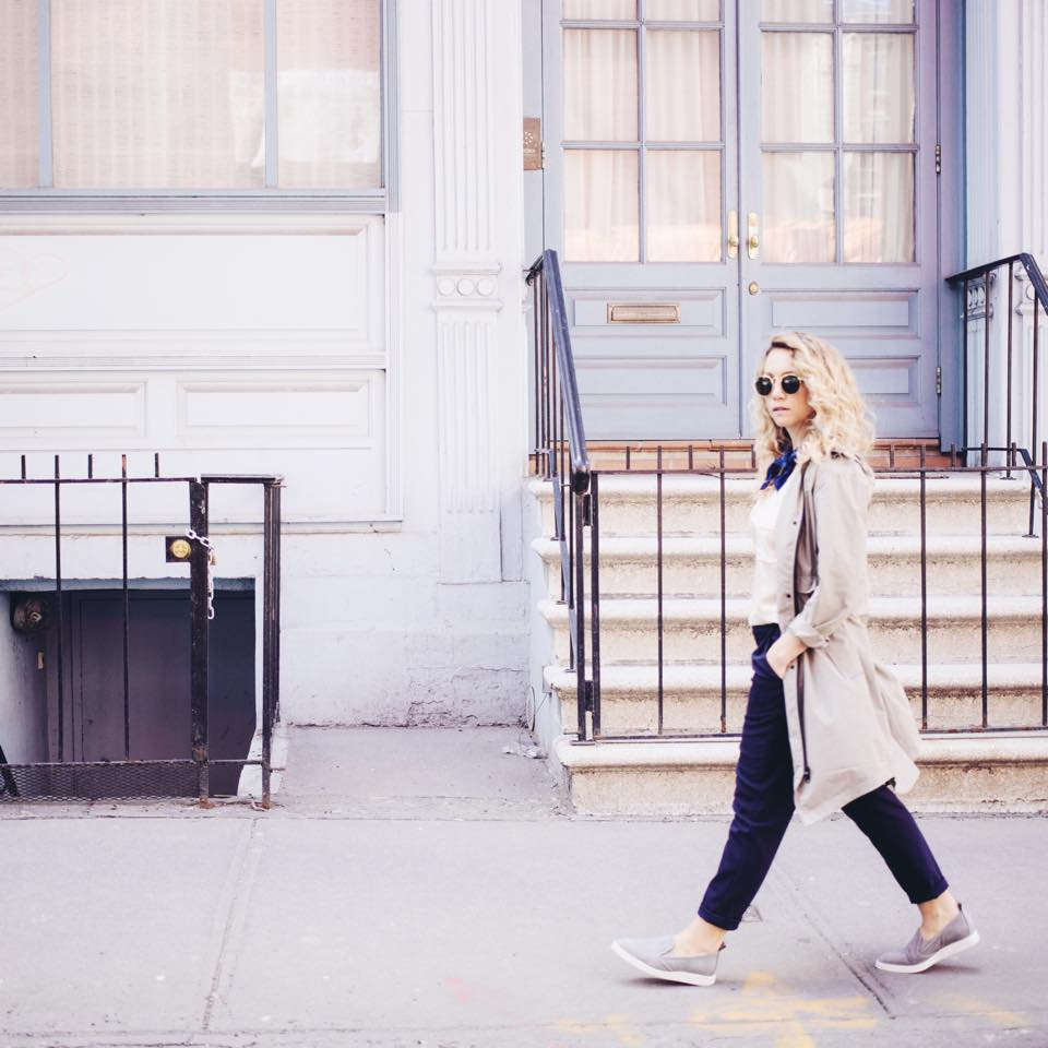 Everlane Street Shoe campaign for social. Photograph by @_janekim.