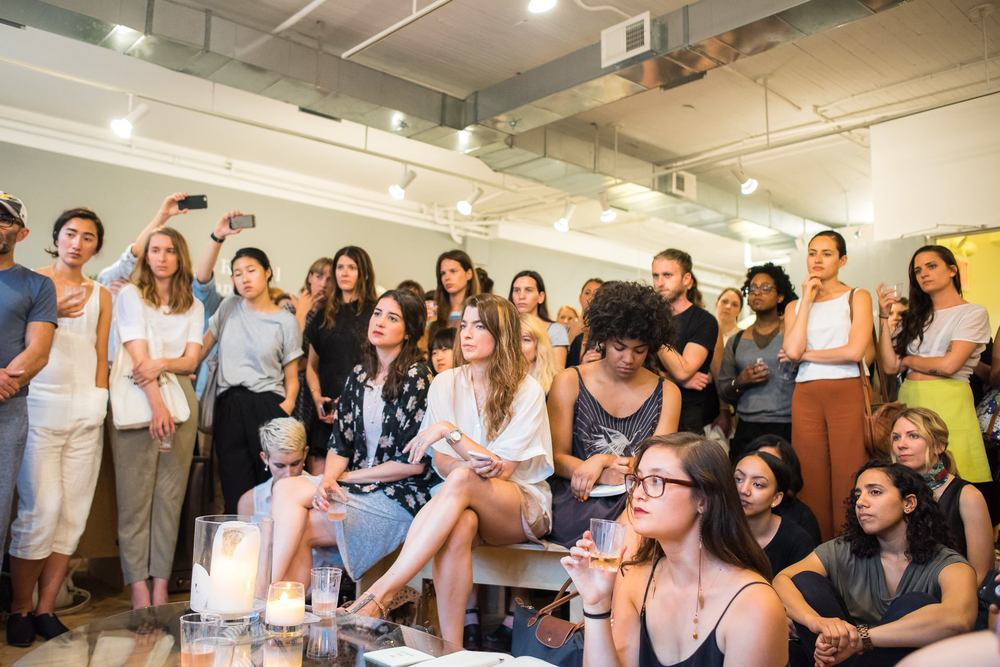 Everlane Community Event: An evening with @heyokreal & @brvtvs. Image by  Paulsta Wong