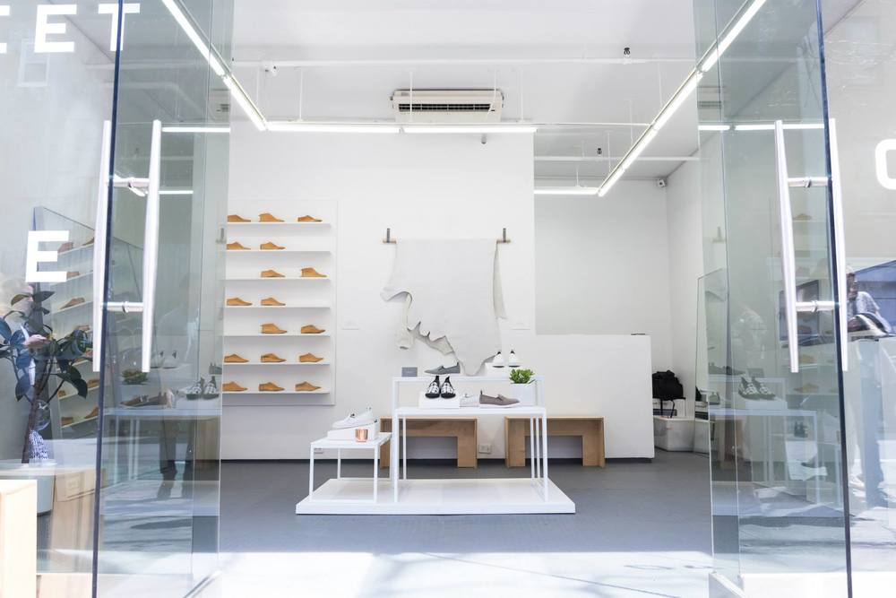 Street Shoe Pop-Up Shop. Image by  Paulsta Wong