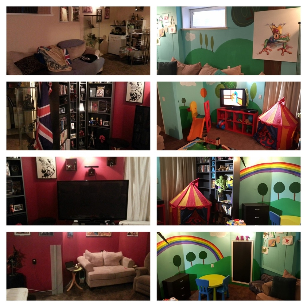 Playroom Redesign