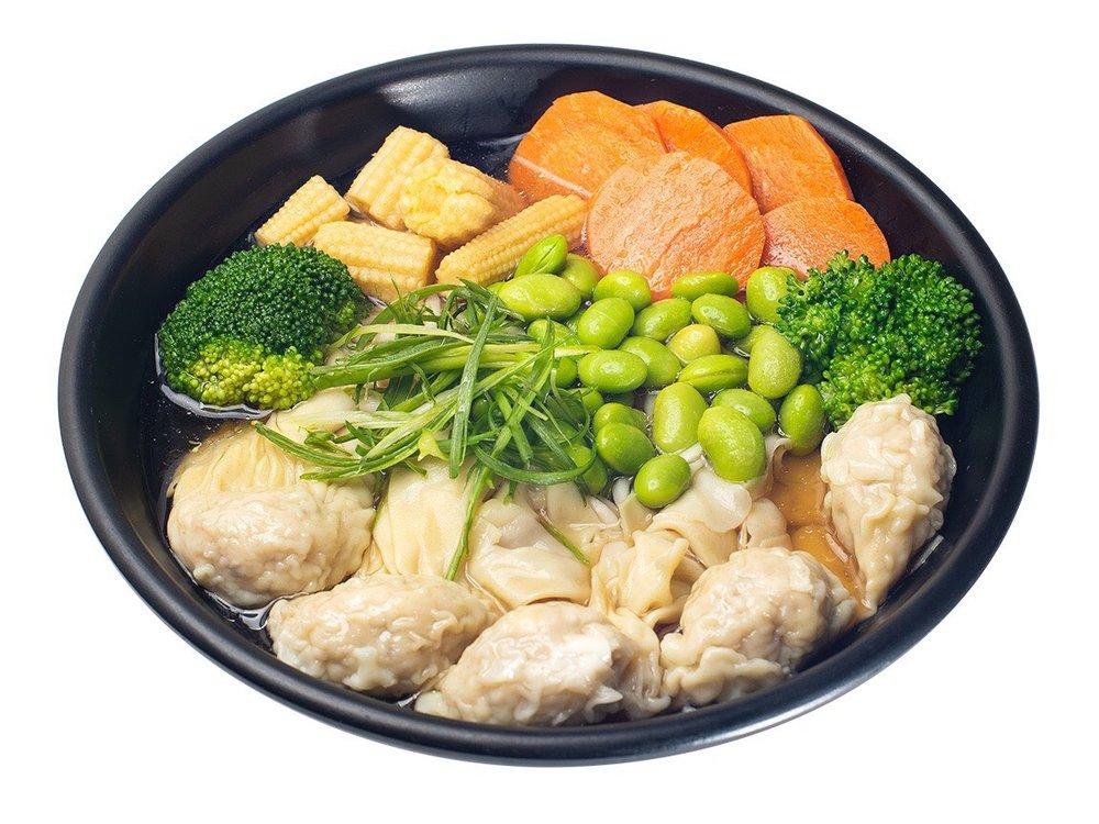 Pork Veg/Chicken Veg Wonton Soup