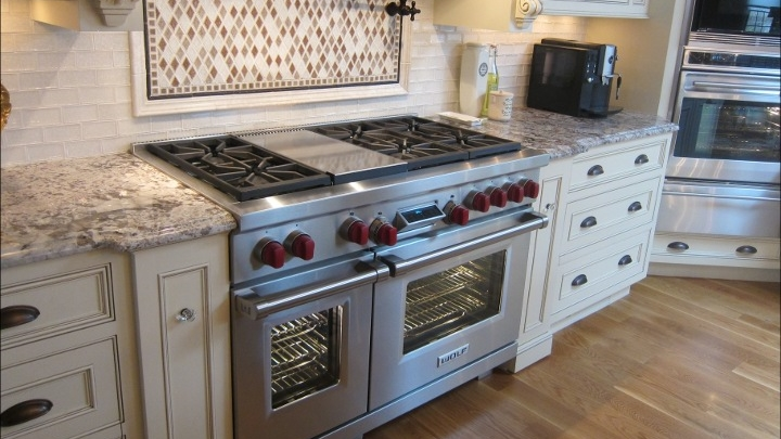 """48"""" Gas Range with Griddle"""