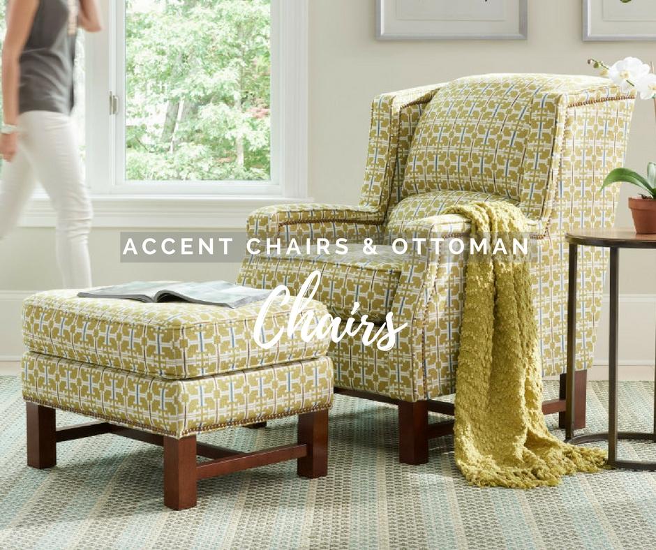 La-Z-Boy accent chairs & ottoman