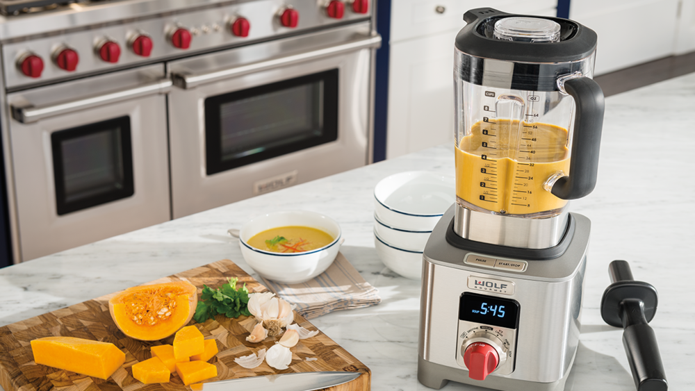 Luxury appliance wolf gourmet blender