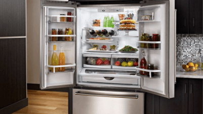 Kitchen Aid French Door Fridge