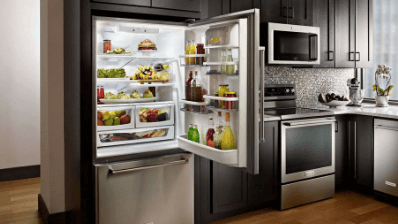 Kitchen Aid Bottom Mount Fridge