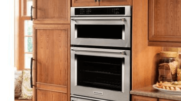 "Kitchen Aid 30"" Combo Wall Oven"