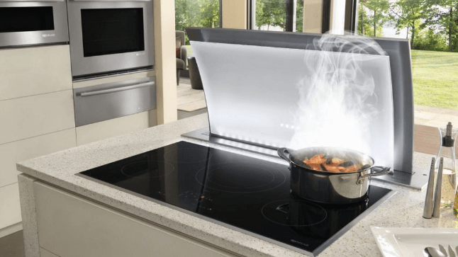 "Jenn Air 36"" Downdraft Ventilation"