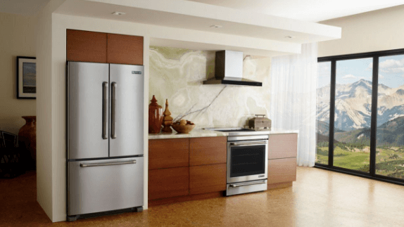 Jenn Air Stainless Steel French Door Fridge