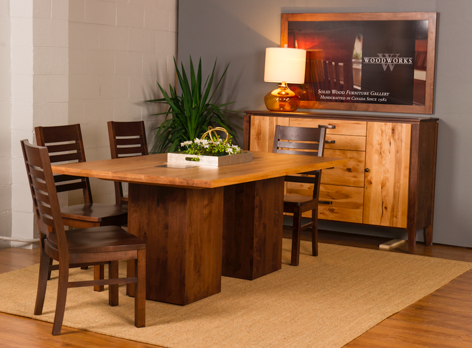 Heartwood Dining Table & Newport Sideboard