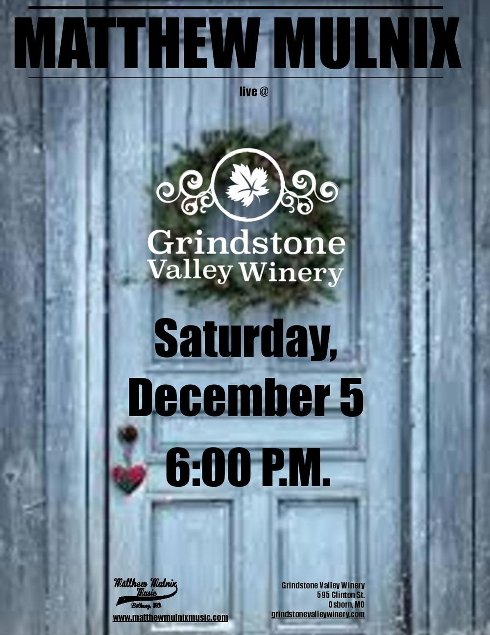 12-5-2015 Poster - Grindstone Valley Winery - Matthew Mulnix-page-001.jpg