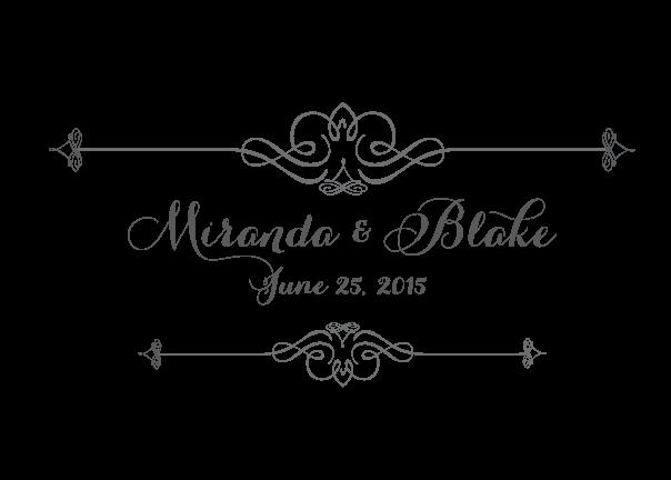 western-classy-monogram-wedding