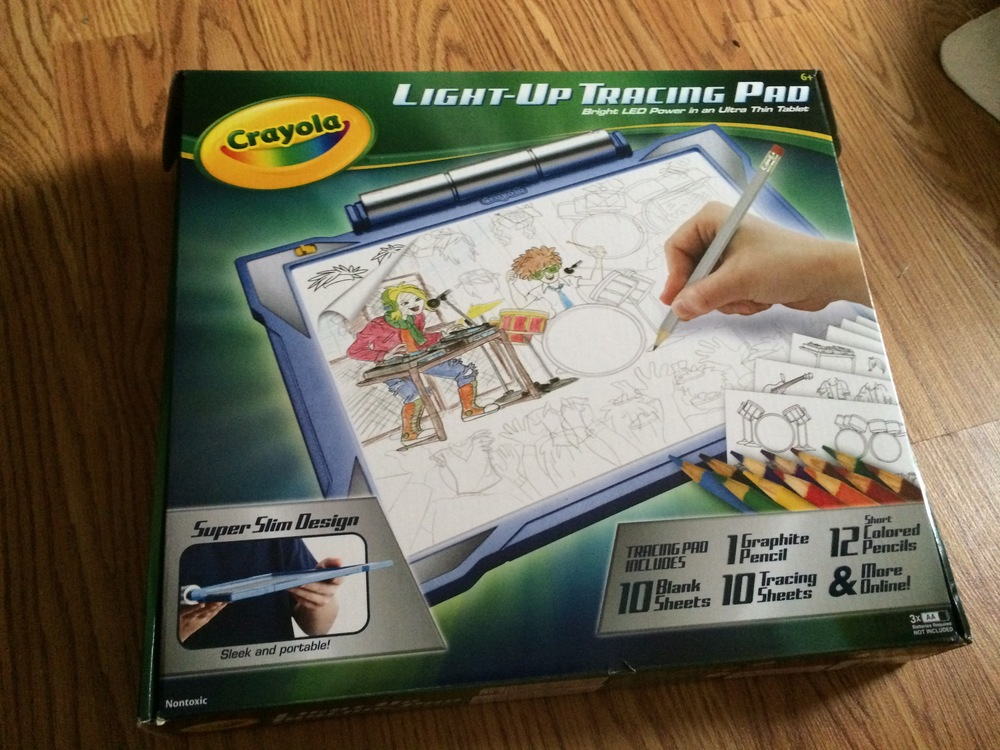 crayola light up tracing pad review danelle bailey