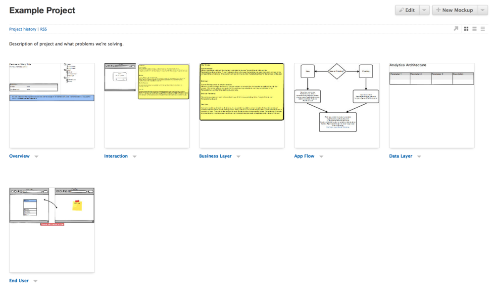 How our design team uses balsamiq as a project hub danelle bailey common models ccuart Choice Image