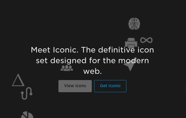 Iconic  Definitive Icon Set