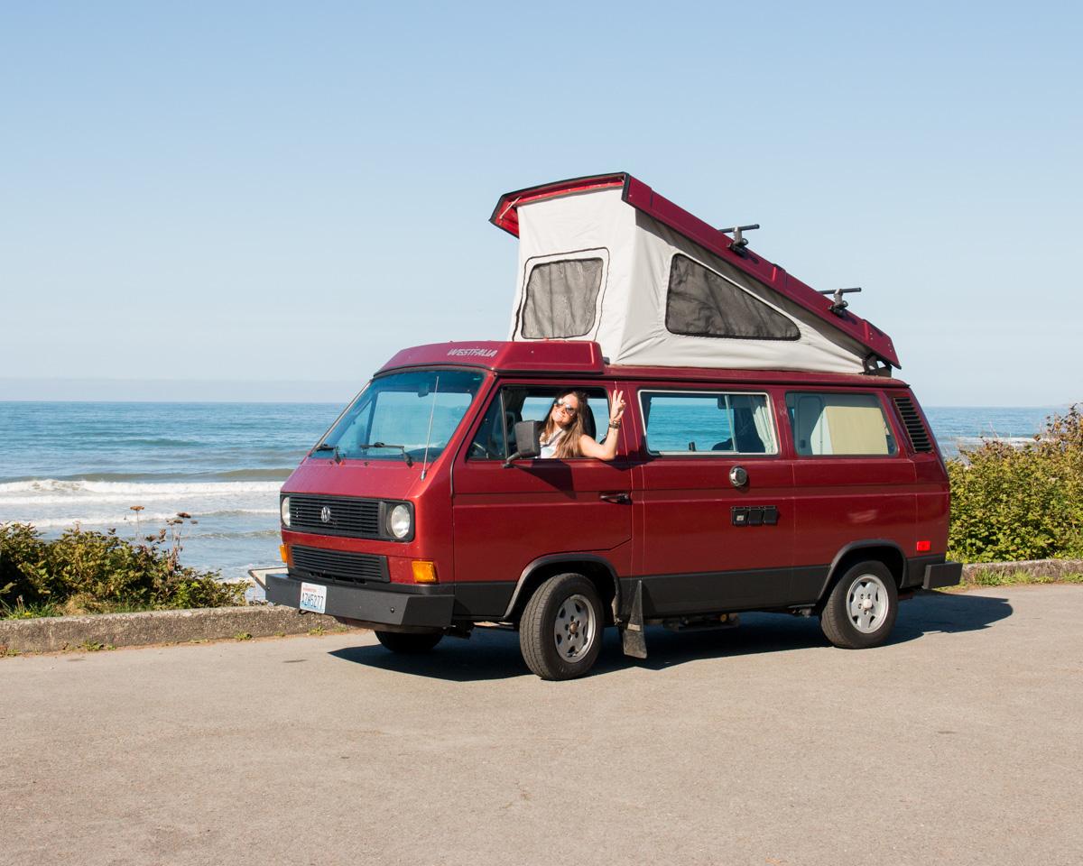 PNW Trip 2016 5360 VW Camper Van Rentals
