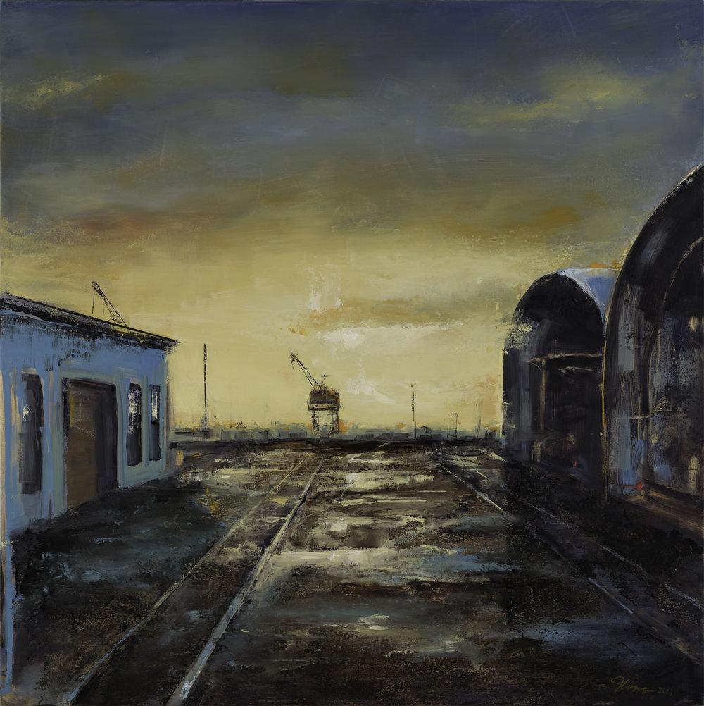 Between Warehouses