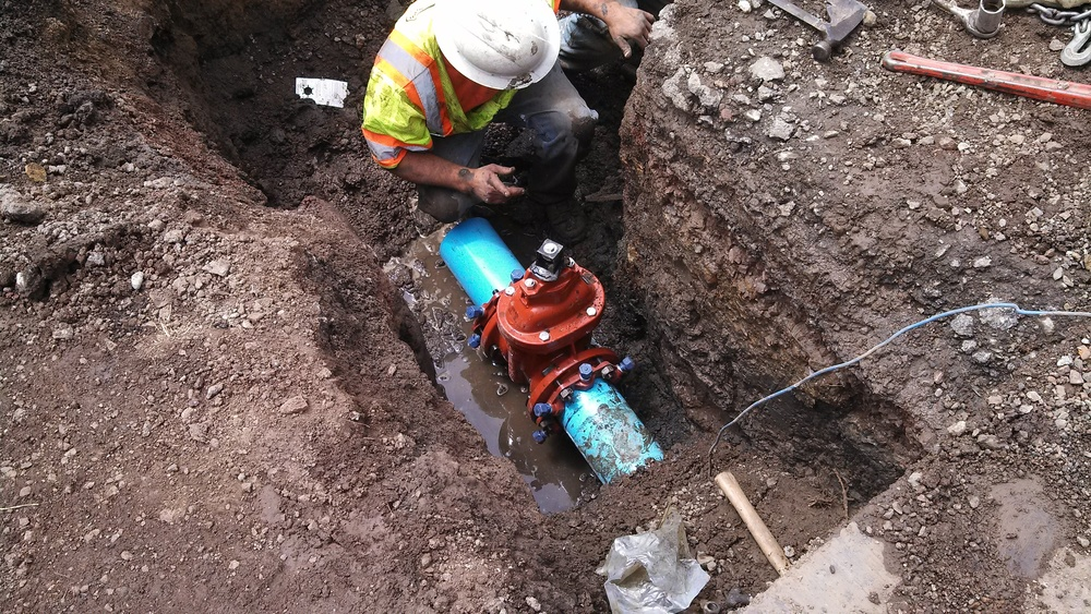 Waterline Repair - Sausalito, CA