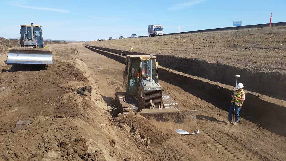 Perimeter Trench Grading for EPS Foam Install