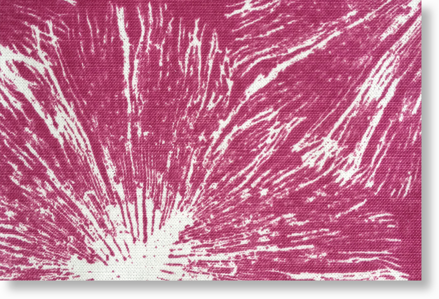 1007-02-C  on coralline 100% cotton