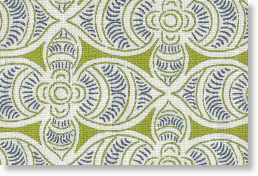 2005-28-B  on grass w/pelagic 45/55 cotton/linen blend