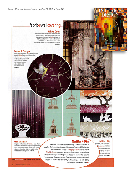 Interior Design Market Tabloid • May 31, 2013 • Page 86