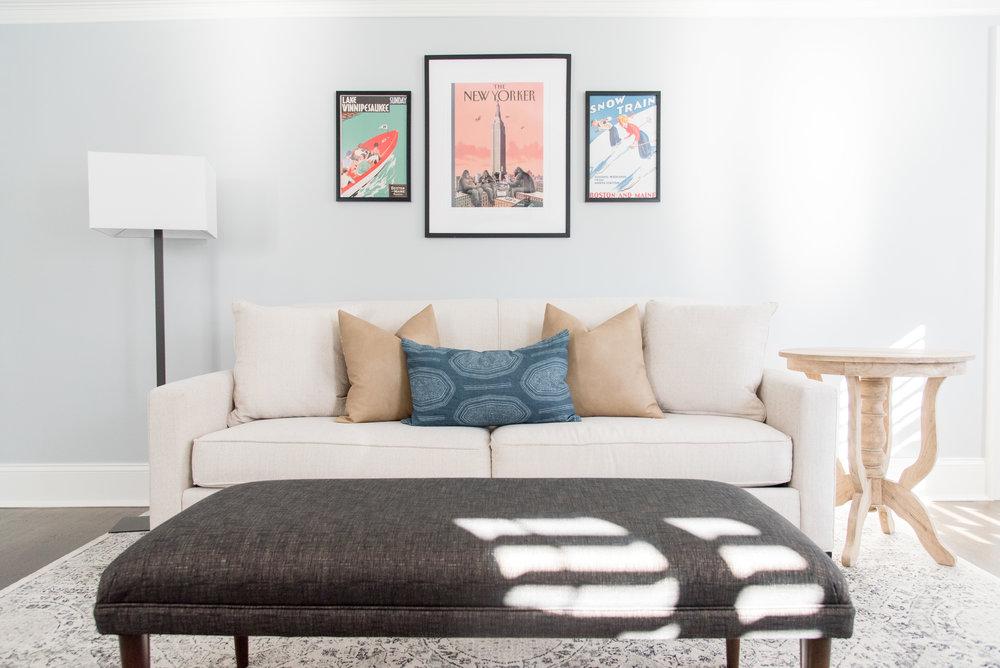 Interior Design Newton Massachusetts decor interior designer Gina Baran Family Room Home Office Design
