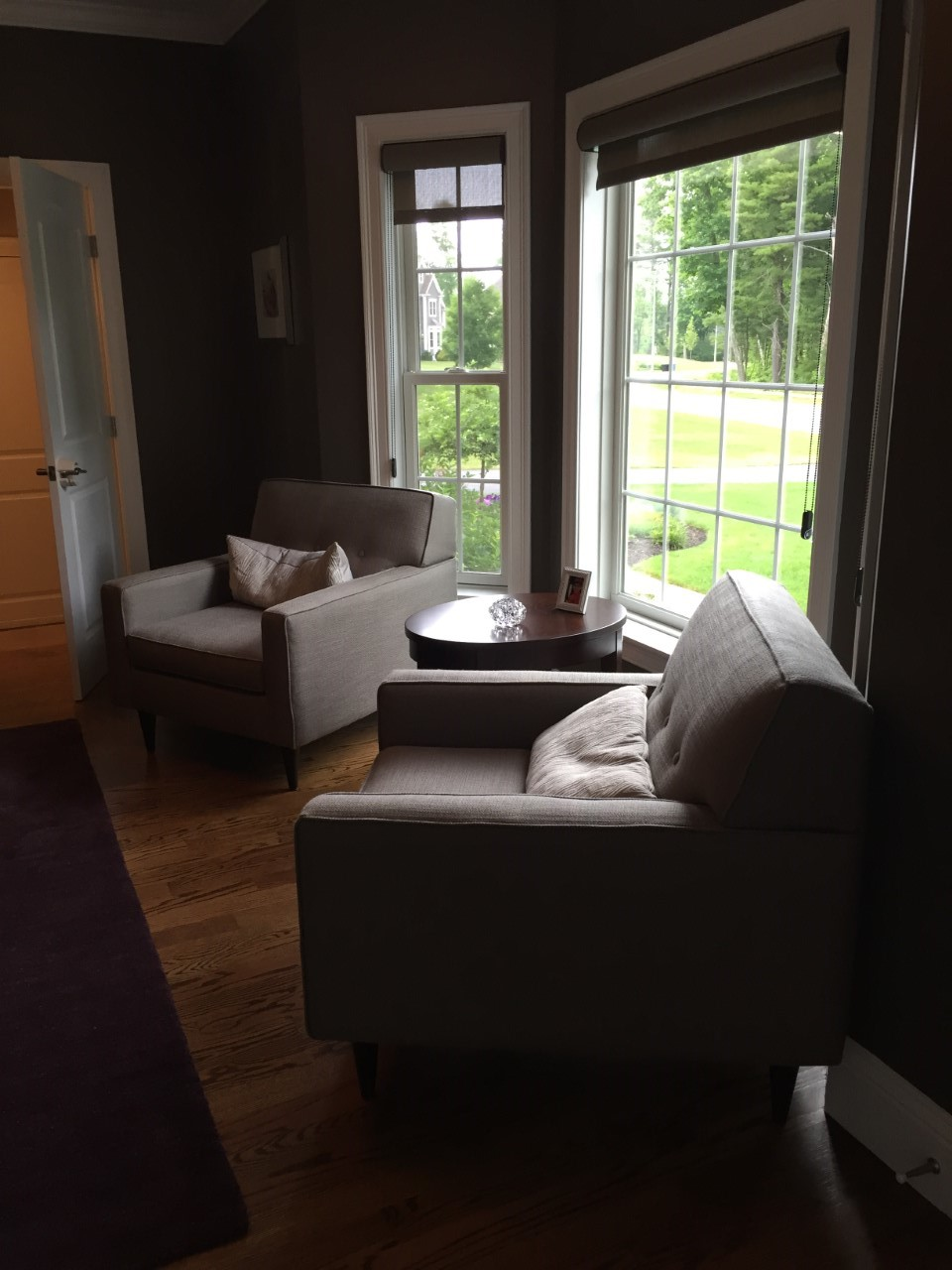 little meadow before photo gina baran interiors and design north reading designer