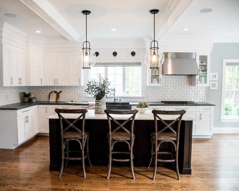 little meadow  gina baran interiors and design kitchen design boston luxury designer