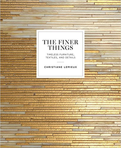 the finer things books gina baran interiors and design boston styling