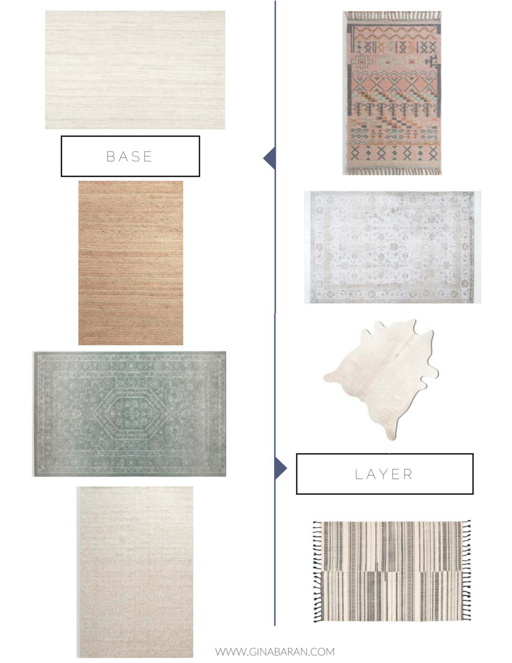 Rug Layering Interior Design Gina Baran HGTV Amber Interiors