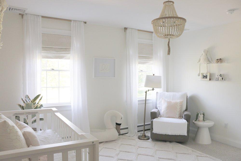 Nursery Gina Baran Interiors and Design Boston Interior Designer childrens room