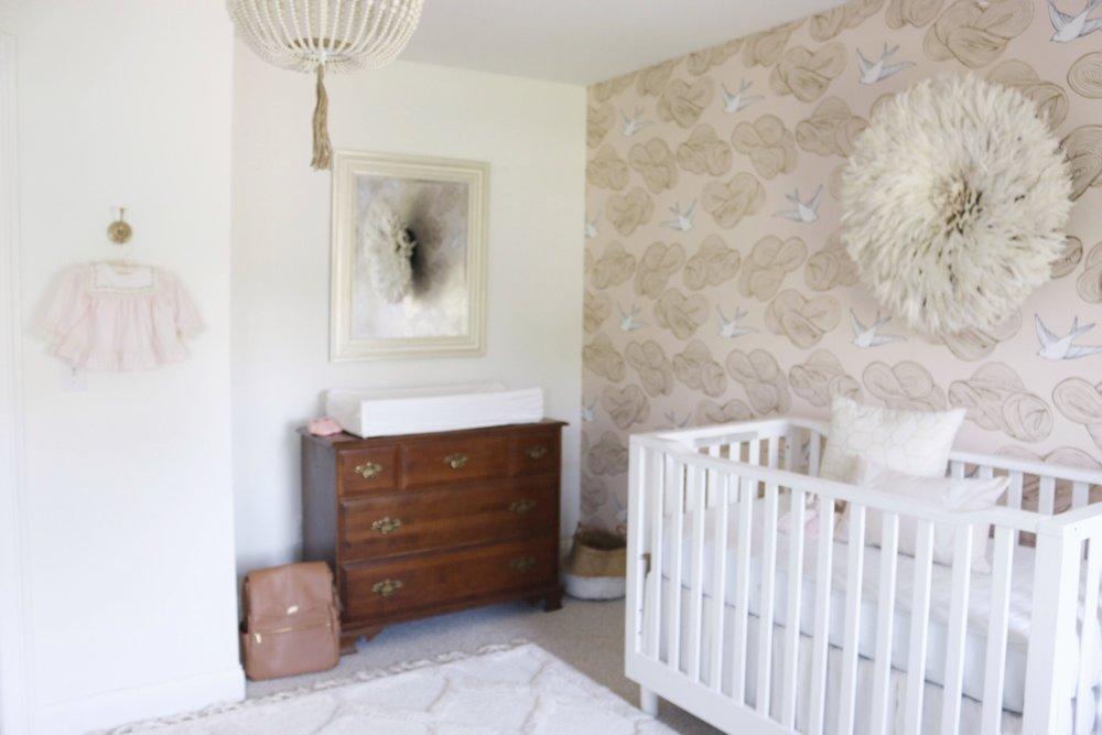 Nursery Gina Baran Interiors and Design Boston Interior Designer