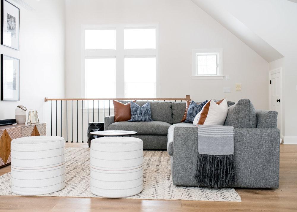 Living Room / Great Room Interior Design Andover MA