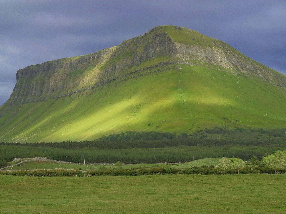 Benbulben Mount, County Sligo, Ireland.