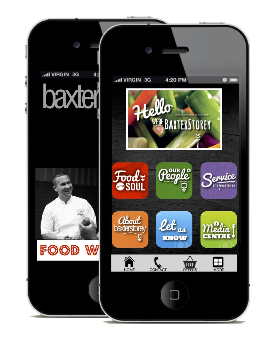 BaxterStorey App